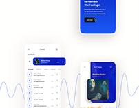 Conceptual Music Player App