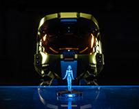 Halo 3: Master Chief and Cortana Photography