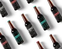 Strange beer packaging