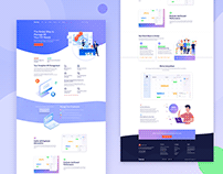 HR Agency Website Design
