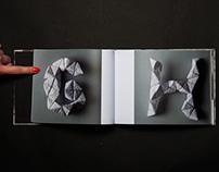 Alphabet Origamic Paper