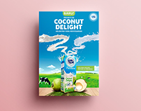 Frisian Flag Coconut Delight Print