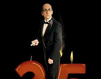 Poster 25 años de humor