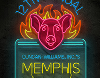 Memphis in May Celebration Collateral