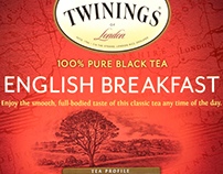 Twinings Tea Packaging Illustrated by Steven Noble