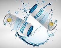 Resse Lemonade Can Branding