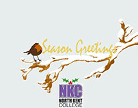 North Kent College Christmas E-Card