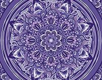 Great Purple Mandala