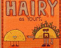 Hairy Taco Spaghetti Toes