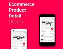 Ecommerce Product Detail Design (Android Prototype)