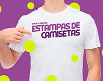 Projeto Pessoal: Estampa de Camisetas