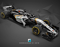 Koenigsegg F1 Racing Team Concept (Late Braking)