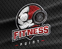 Logotipo - FITNESS POINT