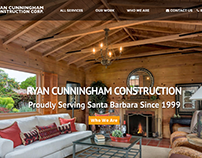 Santa Barbara Construction company. Ryan Construction.