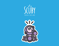 Scuby - Trading Card Game_SimpleCharacterDesign