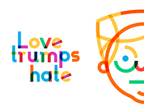 Love trumps hate, #TypeWithPride