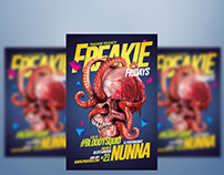 Freakie Fridays Flyer Template