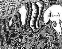 "Book Illustrations for ""War Horse"" by Michael Morpurgo"