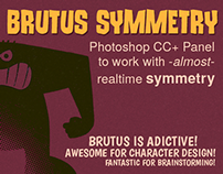Brutus Symmetry - Photoshop CC+ Panel