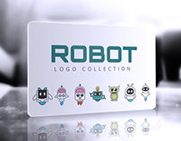 Freebie – 7 Robot Logo Collection