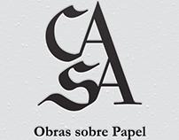 Identidade Visual - cAsA - Obra sobre Papel