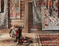 Catálogo alfombras, El Corte Inglés.