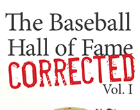 Book Cover: Baseball Hall of Fame Corrected