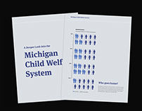 Michigan Child Welfare System: By the Numbers
