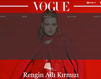 Vogue-Website