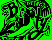 Detroit Booty Logo Concept