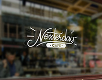 Nexterday Cafe Logo Design