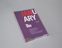 San Francisco Symphony 17/18 Season Monthly Flyer
