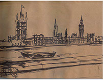 Sketches. England. London, Kent