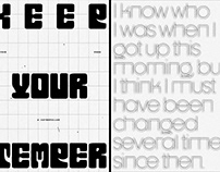 Typography Poster . 1