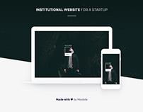 Startup website
