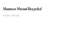 Manteco - Mwool Recycled