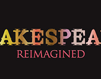 Shakespeare Reimagined logo type