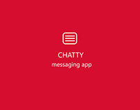 CHATTY MESSAGING APP