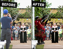 Wedding Photo Retouch - Terry Project