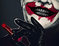 Batman tribute poster.