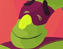 Tindraws - Broccoli Superhero