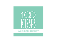 "Branding wedding agancy ""100 kisses"""