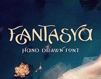 Fantasya Hand Drawn Font