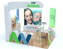 Actavis Stand Exhibition Design