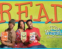 Wayans READ poster