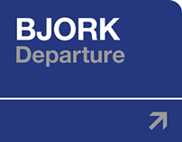 Bjork · Departure - CD booklet