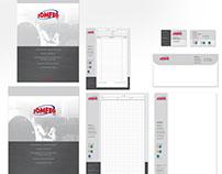 Somfer srl - Grafica coordinata, brochure, sito web