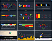 98+ company report Infographic PowerPoint template