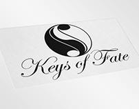 """Логотип для піаністки Тетяни Кушнірук """"Keys of Fate"""""""
