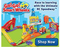 Go! Go! Smart Wheels Web Banners